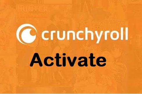 crunchyroll activate
