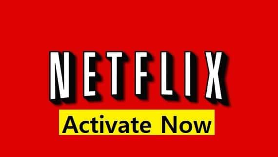 netflix activate