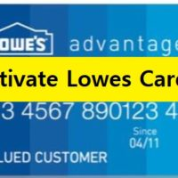 activate lowes card