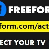 freeform activate