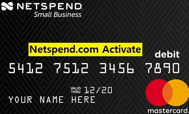 Netspend activate