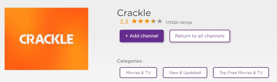 crackle-on-roku-store