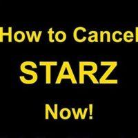 Cancel-Starz-Subscription